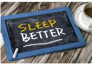 image of sleep better goal