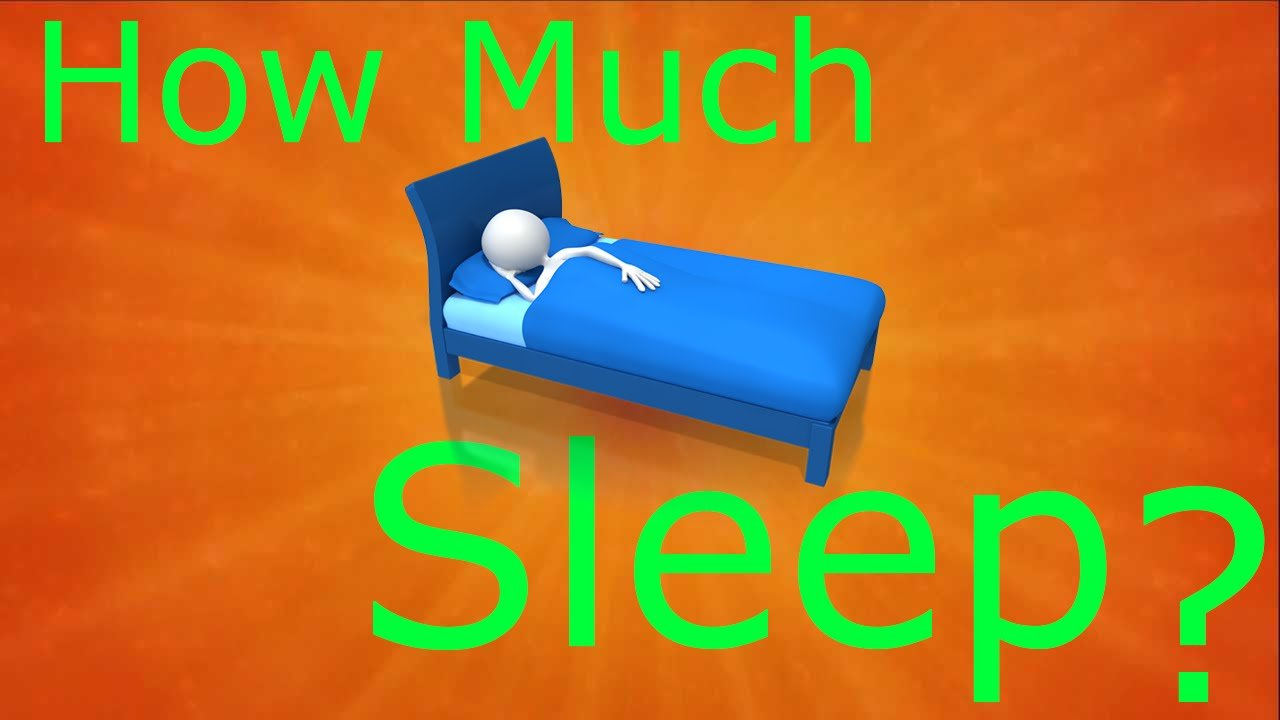 how much sleep do we need