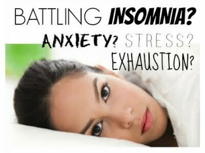 how to treat insomnia due to anxiety